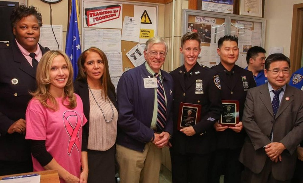 BFHA sponsors cop of the month award 109th precinct