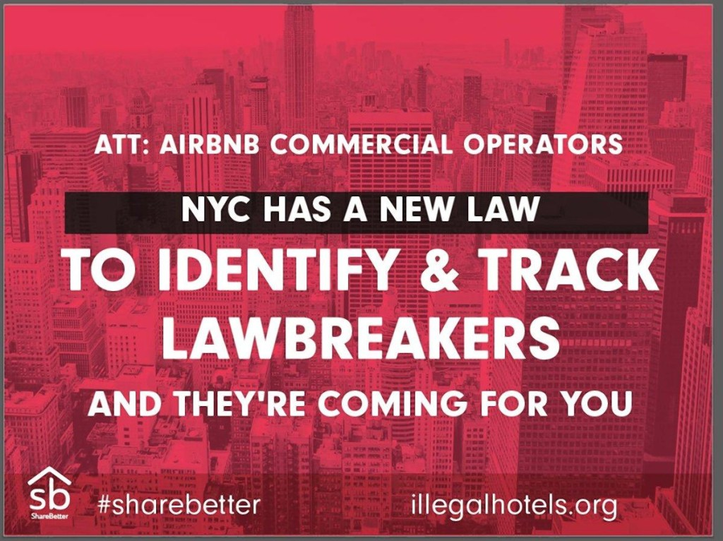 "The coalition's new website — www.IllegalHotels.org — will also feature a ""click-to-call"" mechanism for users to report lawbreakers to 311. (SHAREBETTER)"